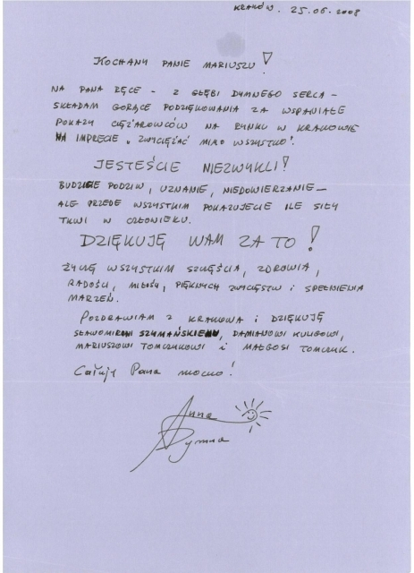podziekowanie-od-Anny-Dymnej-za-udzial-w-pokazach-Zwyciezac-mimo-wszystko-fundacji